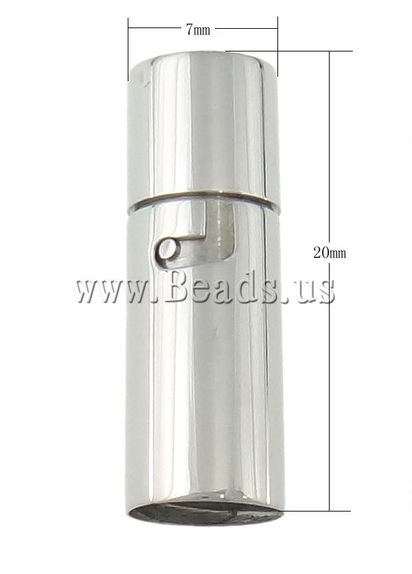 Roestvrij staal bajonet sluiting buis 7x20mm 6mm 50pc 39 s tas tas - Huis roestvrij staal ...