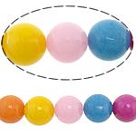 Beads Mermer Natyrore, Round, 18mm, : 2.2mm, : 15Inç, 2Fillesat/Shumë,  Shumë