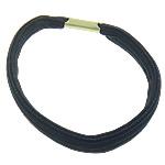 Elastike Hair, Gomë, e zezë, 8mm, : 6Inç, 100Fillesat/Qese,  Qese