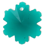 Swarovski Crystal Pendants, Lule, Smerald, 14x12.50x8mm, : 1mm,  PC