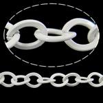 Zinxhiri Iron Oval, Hekur, electrophoresis, e bardhë, , nikel çojë \x26amp; kadmium falas, 6.70x7.50x1.20mm, :50m,  PC