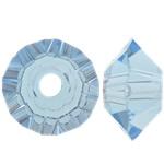 Swarovski Crystal Beads, Bicone, Lt Sapphire, 3.50x6mm, : 1mm, 50PC/Qese,  Qese