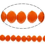 Imitim Swarovski Crystal Beads, Kristal, Rondelle, asnjë, faceted & imitim kristal Swarovski, Zjarri Opal, 6x8mm, : 1mm, :16.5Inç, 72PC/Fije floku,  16.5Inç,