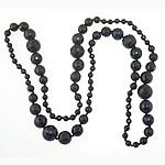 Agat Gjerdan, Black agat, 6-16mm, : 36Inç, 2Fillesat/Shumë,  Shumë