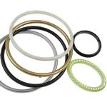 Unaza akrilik Linking, Shape përziera, ngjyra të përziera, 38-75mm, : 31-68mm, 5KG/Shumë,  Shumë