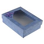 Box karton Gjerdan, Drejtkëndësh, blu, 90x70x30mm, 24PC/Qese,  Qese