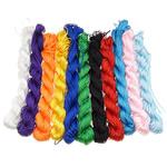 Cord Silk, Mëndafsh, ngjyra të përziera, 1.50mm, :1500m, 10Çanta/Shumë,  Shumë
