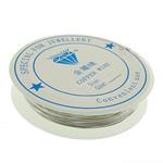 Wire bakri, Tunxh, asnjë, ngjyrë platin, , nikel çojë \x26amp; kadmium falas, 0.80mm, 10PC/Shumë,  Shumë