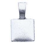Alloy zink Glue në Bail, Drejtkëndësh, Ngjyra antike argjendi praruar, asnjë, asnjë, , nikel çojë \x26amp; kadmium falas, 18x10x5mm, : 3x5mm, 1000PC/Qese,  Qese