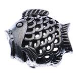 Beads Alloy zink Kafshëve, Ngjyra antike argjendi praruar, asnjë, , nikel çojë \x26amp; kadmium falas, 18x17x8mm, : 3mm, 10PC/Qese,  Qese