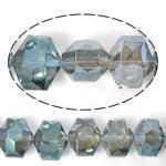 Imitim Swarovski Crystal Beads, Kristal, Gjashtëkëndësh, asnjë, imitim kristal Swarovski & makinë faceted, asnjë, 14x12x10mm, : 1mm, 100PC/Shumë,  Shumë