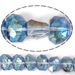 Imitim Swarovski Crystal Beads, Kristal, Shape Tjera, asnjë, imitim kristal Swarovski & makinë faceted, asnjë, 13x10x9mm, : 1mm, 100PC/Shumë,  Shumë