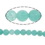 Beads Amazonite, Round, natyror, 4mm, : 15Inç, 10Fillesat/Shumë,  Shumë