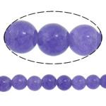 Beads kuarc bizhuteri, Ametist, Round, asnjë, 4mm, : 16Inç, 10Fillesat/Shumë,  Shumë