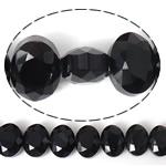 Imitim Swarovski Crystal Beads, Kristal, Oval, asnjë, imitim kristal Swarovski & makinë faceted, Reaktiv, 12x9x7mm, : 1mm, 100PC/Shumë,  Shumë