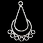 925 Sterling Silver Mbulim Gjuhësh, Lot, argjend praruar vërtetë, 1/7 loop, asnjë, 21x34.50x1.20mm, : 2.2, 1.8mm, 5PC/Qese,  Qese