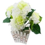 Lule artificiale Kryesore Dekor, Mëndafsh, Shape Tjera, 440x400mm, 10PC/Qese,  Qese