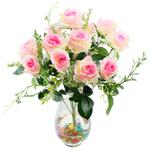 Lule artificiale Kryesore Dekor, Mëndafsh, Shape Tjera, e bardhë, 550x330mm, 10PC/Qese,  Qese
