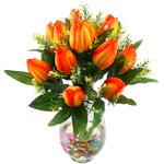 Lule artificiale Kryesore Dekor, Mëndafsh, Shape Tjera, i verdhë, 480x370mm, 10PC/Qese,  Qese