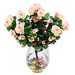Lule artificiale Kryesore Dekor, Mëndafsh, Shape Tjera, trëndafili dritë, 380x300mm, 10PC/Qese,  Qese