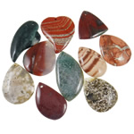 Agat pendants bizhuteri, Agat Original Color, i përzier, 41-65mm, : 1.5-3.5mm, 20PC/Qese,  Qese
