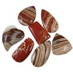 Agat pendants bizhuteri, Agat Original Color, i përzier, 45-59mm, : 2-2.5mm, 20PC/Qese,  Qese