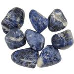 Komponenti varëse gur i çmuar, Natyrore lapis lazuli, Shape përziera, 38-41mm,  KG