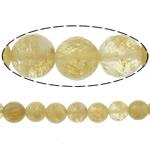 Beads Stone Kafe, Round, 10mm, : 1.2mm, :15Inç, 10Fillesat/Shumë,  Shumë