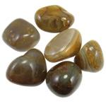 Komponenti varëse gur i çmuar, Agat Kafe, Shape përziera, 40-51mm,  KG