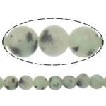 Lotus Jaspis Perlen, Lotos Jaspis, rund, natürlich, 4mm, Bohrung:ca. 0.8mm, Länge:ca. 15 ZollInch, 30SträngeStrang/Menge, ca. 90PCs/Strang, verkauft von Menge