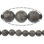 Snowflake Beads xham vullkanik, Snowflake Obsidian, Round, 8mm, : 2mm, :15.8Inç, 10Fillesat/Shumë,  Shumë