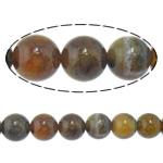 Veins Natyrore Dragon agat Beads, Agat Dragon venë, Round, 14mm, : 2.2mm, :15.5Inç, 5Fillesat/Shumë,  Shumë