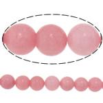Beads Mermer Natyrore, Round, i lyer, 6mm, : 1.8mm, :15.3Inç, 10Fillesat/Shumë,  Shumë