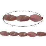 Beads rodoniti, Kthesë, natyror, 8x16mm, : 1.5mm, :16Inç, 10Fillesat/Shumë,  Shumë