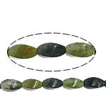 Agat Beads, Moss Agate, Kthesë, asnjë, asnjë, 8x16mm, : 1.5mm, :16Inç, 5Fillesat/Shumë,  Shumë