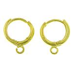 Hop Komponentet bronzi Vath, Tunxh, Shape Tjera, ngjyrë ari praruar, asnjë, asnjë, , nikel çojë \x26amp; kadmium falas, 12x2.50mm, : 2mm, 200Çiftet/Qese,  Qese