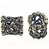 Bali Sterling Silver Beads, Tajlandë, Rondelle, asnjë, vrimë e madhe, asnjë, 5x6mm, : 3mm, 20PC/Qese,  Qese