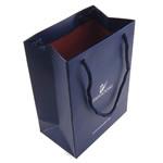 Shopping Bag, Letër, Drejtkëndësh, asnjë, asnjë, safir, 15x110x70mm, 50PC/Shumë,  Shumë