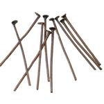 Iron Headpin, Shape Tjera, ngjyrë bakri të praruar antike, asnjë, asnjë, , nikel çojë \x26amp; kadmium falas, 0.7x21mm, 17140PC/KG,  KG