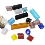 Seed Glass Beads përziera, Shape përziera, asnjë, i përzier, ngjyra të përziera, 2-7mm, : 1mm,  Qese