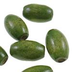 Beads druri, Daulle, i lyer, asnjë, e gjelbër, 10x15mm, : 3.5mm, 1110PC/Qese,  Qese