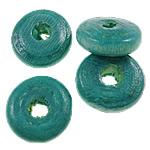 Beads druri, Heishi, i lyer, asnjë, acid blu, 11x4mm, : 3mm, 2500PC/Qese,  Qese