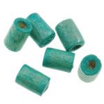 Beads druri, Tub, i lyer, asnjë, acid blu, 4x5mm, : 1.5mm, 12500PC/Qese,  Qese