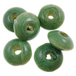 Beads druri, Rondelle, i lyer, asnjë, drita e gjelbër, 10x4.5mm, : 3mm, 3120PC/Qese,  Qese