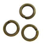 Iron Mbyllur Ring Jump, Hekur, Petull e ëmbël në formë gjevreku, Ngjyra antike bronz i praruar, asnjë, asnjë, , nikel çojë \x26amp; kadmium falas, 4x0.7mm, : 2.7mm, 31250PC/KG,  KG