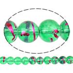Glass Beads Drawbench, Xham, Round, i praruar, asnjë, asnjë, 8mm, : 1.5mm, : 31.5Inç, 10Fillesat/Qese,  Qese