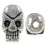 Beads bizhuteri Alloy zink, Kafkë, Ngjyra antike argjendi praruar, asnjë, asnjë, , nikel çojë \x26amp; kadmium falas, 6x9.50x6.50mm, : 1.5mm, 905PC/KG,  KG