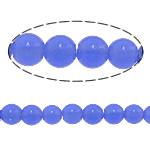 Beads Round Crystal, Kristal, Safir, 12mm, : 1.5mm, :15.5Inç, 10Fillesat/Shumë,  Shumë