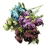 Lule artificiale Kryesore Dekor, Plastik, asnjë, asnjë, ngjyra të përziera, 280x530x320mm, 10PC/Shumë,  Shumë