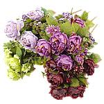 Lule artificiale Kryesore Dekor, Mëndafsh, asnjë, asnjë, ngjyra të përziera, 340x560x230mm, 10PC/Shumë,  Shumë